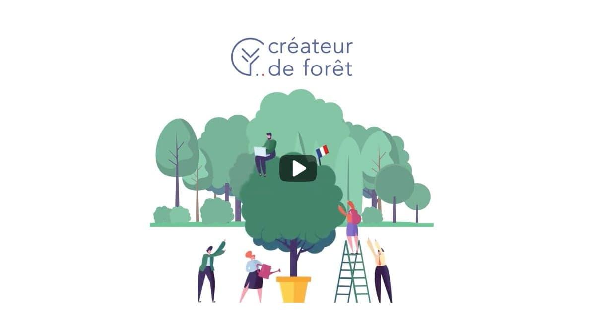Vidéo créateur de forêt